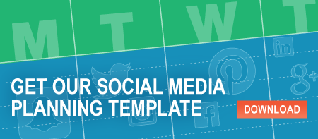 Social Media Planning Template Download Button